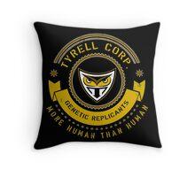 Tyrell Corporation Crest Throw Pillow