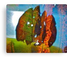Bold leaves 1 Canvas Print