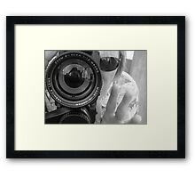 03-06-11:  Teamwork. Bang. Framed Print