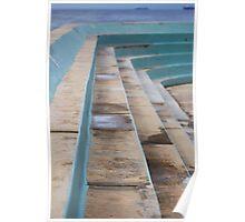 Ocean baths grandstand Poster