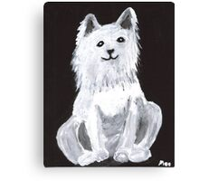 Furry Pet Canvas Print