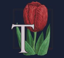 T is for Tulip - patch by Stephanie Smith