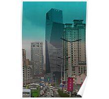 Gridlock in Shanghai Poster