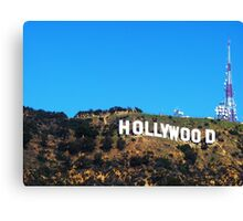 Hollywood! Canvas Print