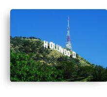 Hollywood! 2 Canvas Print