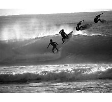 Surf...Surf...Surf...Surf... Photographic Print