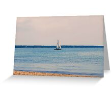 Cape Code View Greeting Card