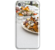 Lunch with friends iPhone Case/Skin