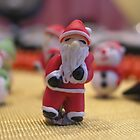 Christmas - Mini Santa by Deanna Roberts Think in Pictures