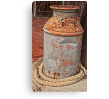 Rusty Can Canvas Print