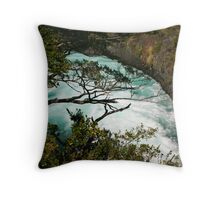 Below Petrohue Falls Throw Pillow