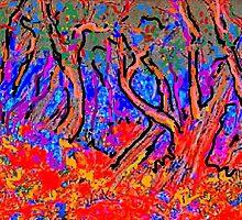 Fauve Landscape by Richard  Tuvey
