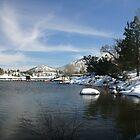 LAKE'S WINTER CAPE by fsmitchellphoto