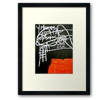 Uncertain Terms No. 2 Framed Print