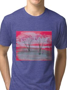 cherry blossom time Tri-blend T-Shirt