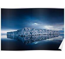 Giant Tabular Iceberg Antarctica Poster