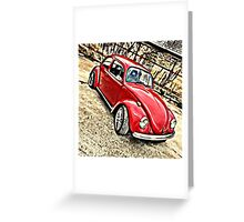Little red Dub Greeting Card