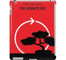 No125 My KARATE KID minimal movie poster iPad Case/Skin