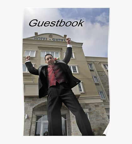 Please sign my Guestbook Poster