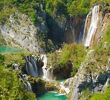 Plitvica Falls by Ian Fegent