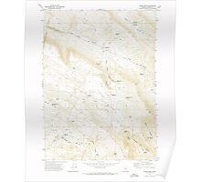 USGS Topo Map Oregon Fields Basin 279854 1971 24000 Poster