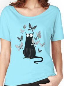 Paper Butterflies  Women's Relaxed Fit T-Shirt
