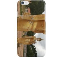 Golden Buddha Statue iPhone Case/Skin