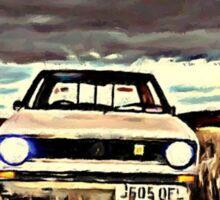 Mk1 Caddy Sticker