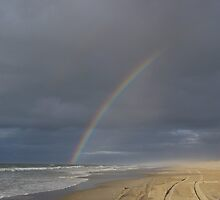 rainbow o'er hatteras by tamarama