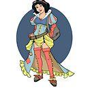 Steampunk Snow White by Karen  Hallion