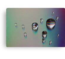 Planets Landed On DVD Canvas Print