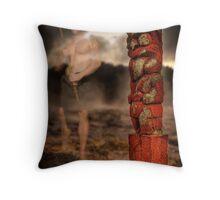 Of Maori Kings Throw Pillow