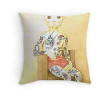 Contemporary Sideshow Throw Pillow