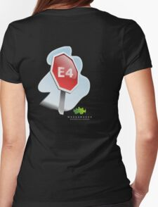 v 3 WWEC logo bible study shirt Womens Fitted T-Shirt