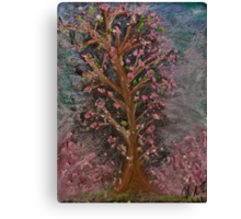 Cherry Blossoms For My Tabi Canvas Print