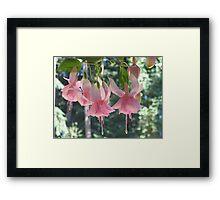 "Dancing ""Julie Horton"" Fuchsia Framed Print"
