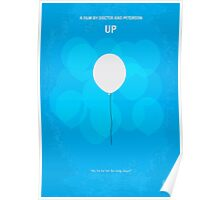 No134 My UP minimal movie poster Poster