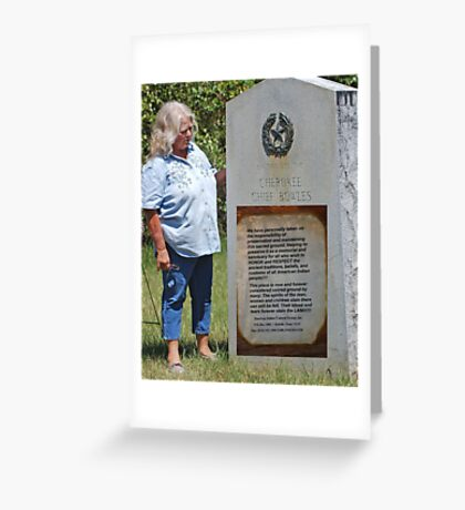 WE WILL REMEMBER Greeting Card