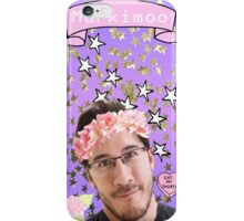 Markimoo with a flower crown iPhone Case/Skin