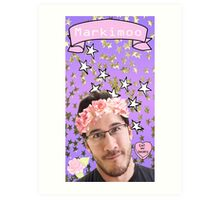 Markimoo with a flower crown Art Print