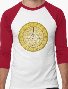 Bill Cipher Men's Baseball ¾ T-Shirt