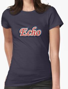 Three colors echo Womens Fitted T-Shirt
