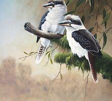Kookaburras by eric shepherd