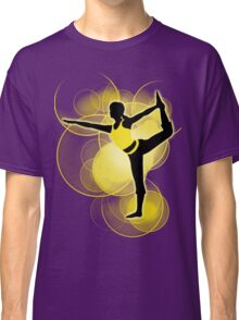 Super Smash Bros. Yellow Wii Fit Trainer (Female) Silhouette Classic T-Shirt