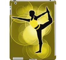Super Smash Bros. Yellow Wii Fit Trainer (Female) Silhouette iPad Case/Skin
