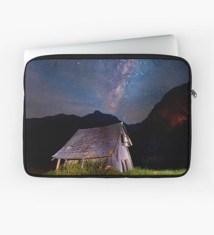 The barn at the end of the universe Laptop Sleeve