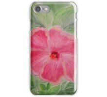 Hibiscus aquarel  iPhone Case/Skin
