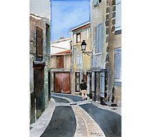 Rue sous le rues, Maringues Photographic Print