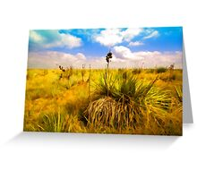 """Panhandle Plains of Oklahoma"" Greeting Card"