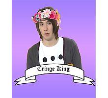 Dan Howell the cringe king Photographic Print